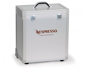 Mobile case for coffee maker Nespresso ZENIUS